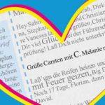 Grüße Carsten mit C. Melanie mit M.